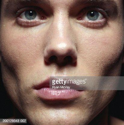 Young man, close-up