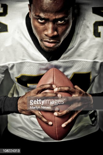 Young Man Football Player