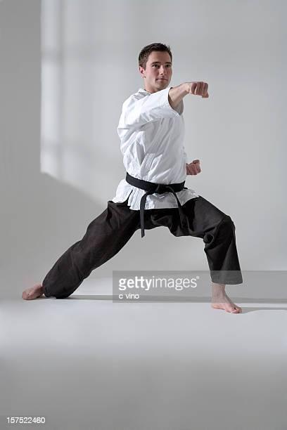 Young man martial artist