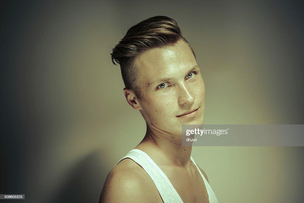 Young man portrait : Stock Photo