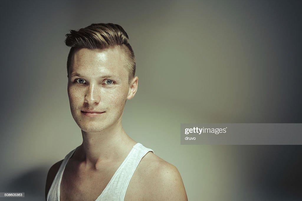 Jovem Retrato : Foto de stock