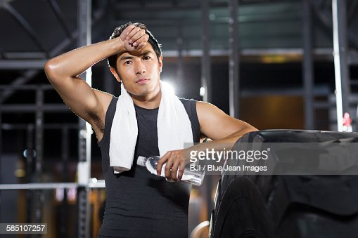 Chinese bodybuilder stock photos and pictures getty images for Gimnasio fraile