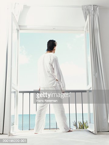 Balcony curtains stock photos and pictures getty images