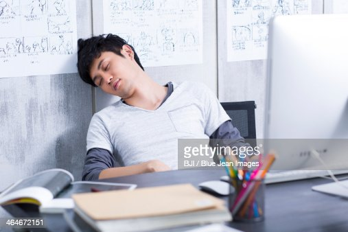 Sleeping On The Job Stock Photos And Pictures Getty Images