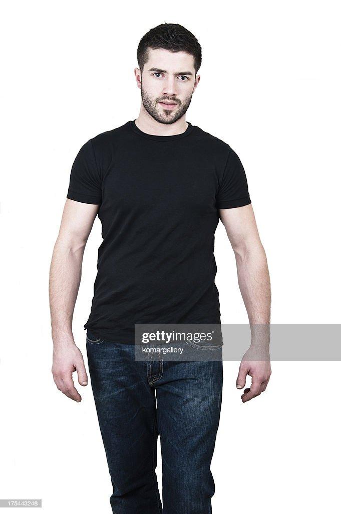 Black Shirt Jeans