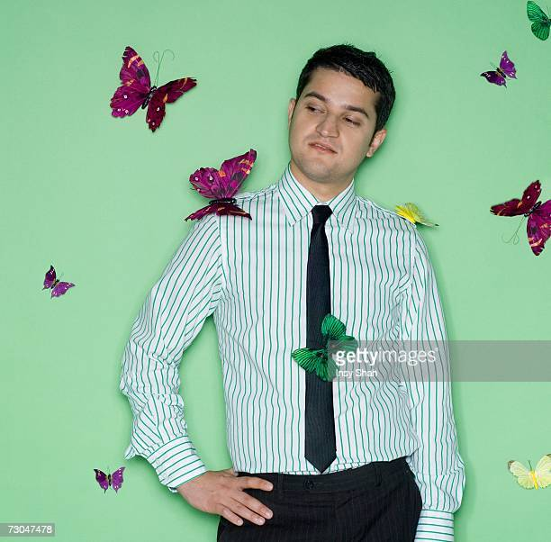 Surreal happy foto e immagini stock getty images for Pesce rosso butterfly