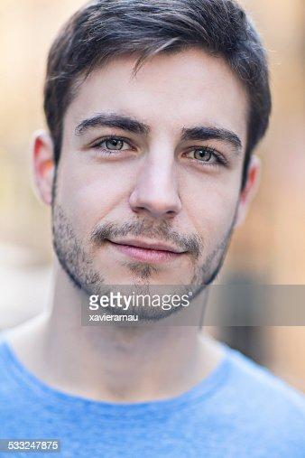 Young man's portrait