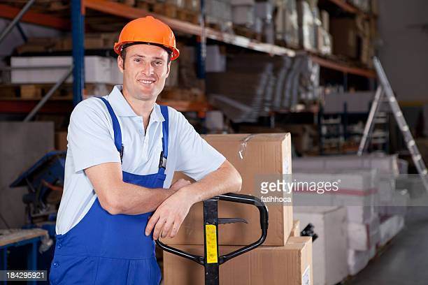 Junge Arbeiter