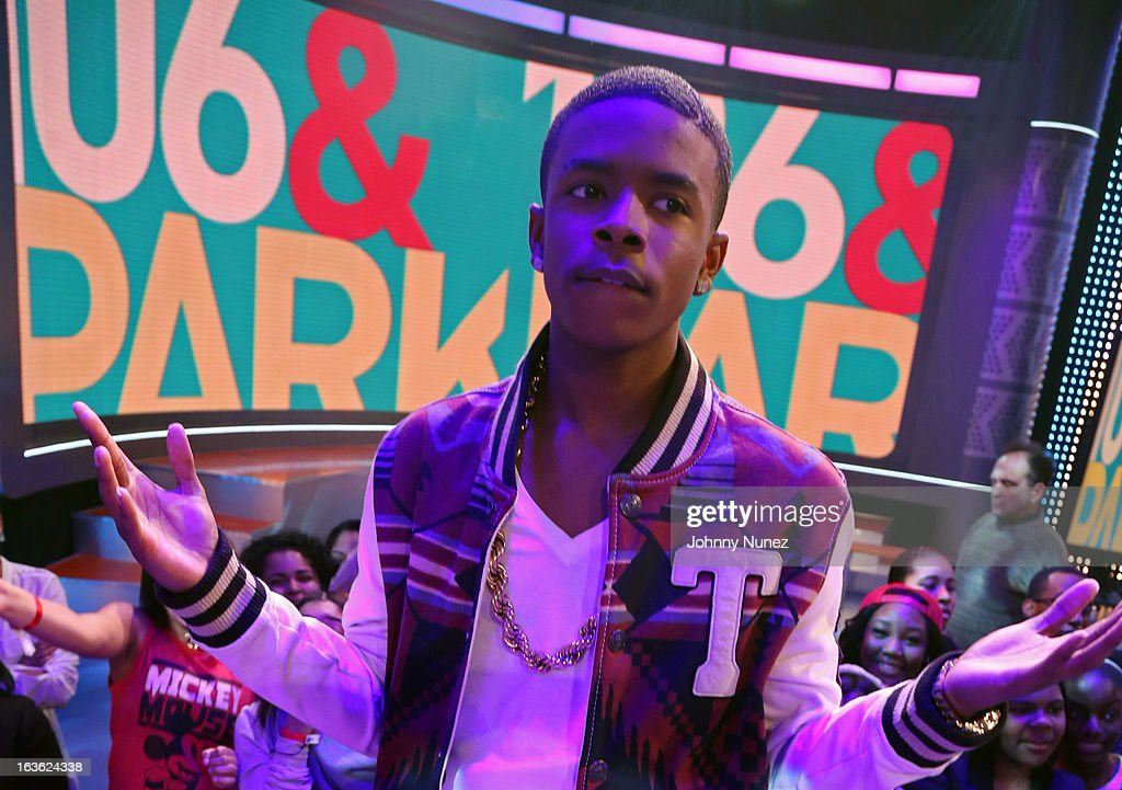 Young Marqus visits BET's '106 & Park' at BET Studios on March 11, 2013 in New York City.