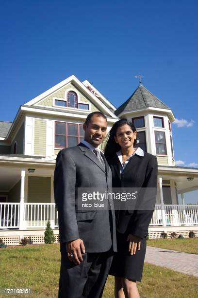 Young middle eastern couple