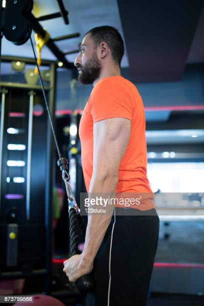 Young Middle Eastern Man Exercising