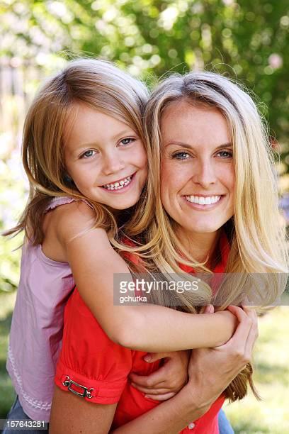 Jeune maman et sa fille