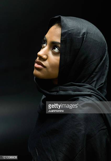 Young Muslim Woman Portrait