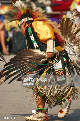 Young Native American Dancer