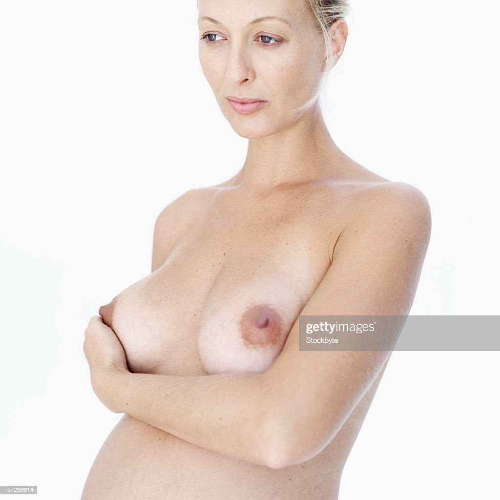 Pregnant Womans Breast 59