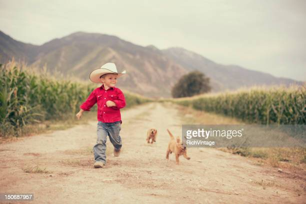 Young on the Farm