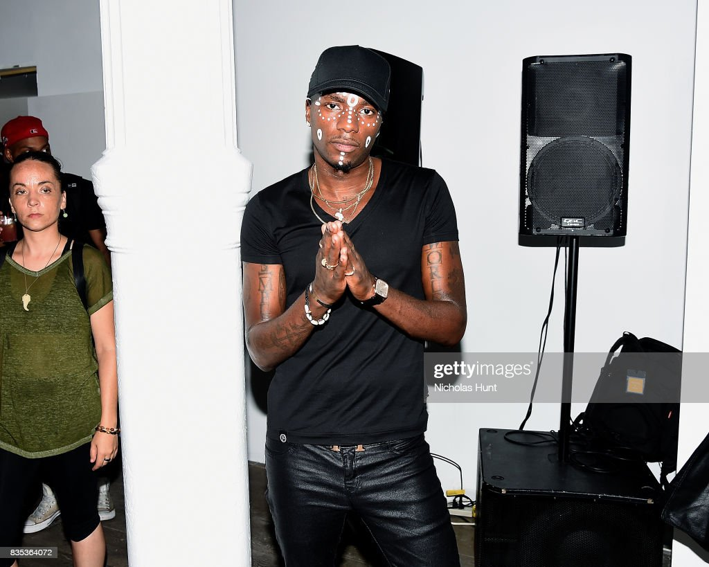Young Paris attends Pop-Up Shop launch for clothing brand UNIFORM on August 18, 2017 in New York City.