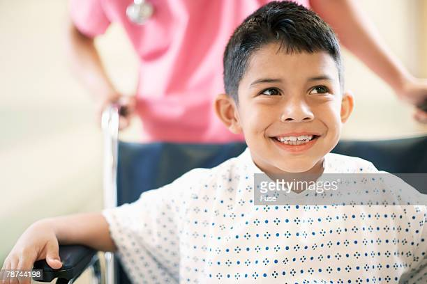 Young Patient in Wheelchair