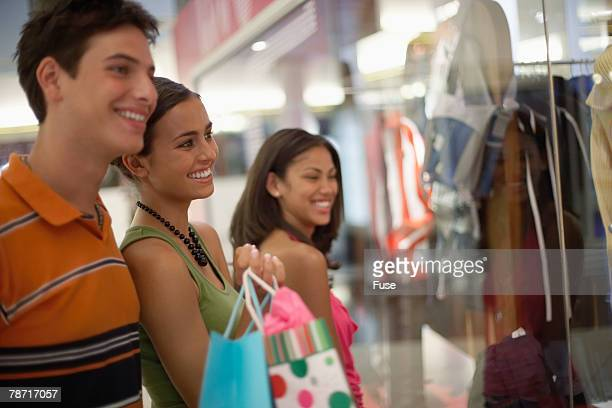 Young People Shopping