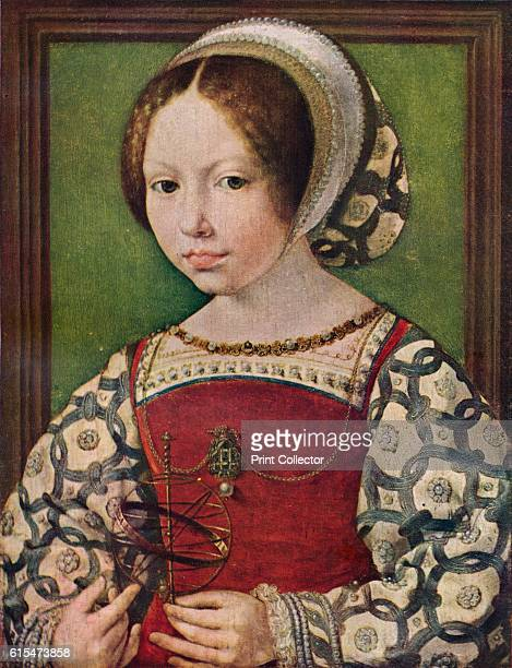 A Young Princess ' c153032 Dorothea was the eldest daughter of King Christian II of Denmark The painting is held by the National Gallery London From...