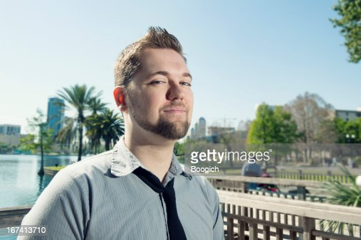 Young Professional Man in Orlando : Stock Photo