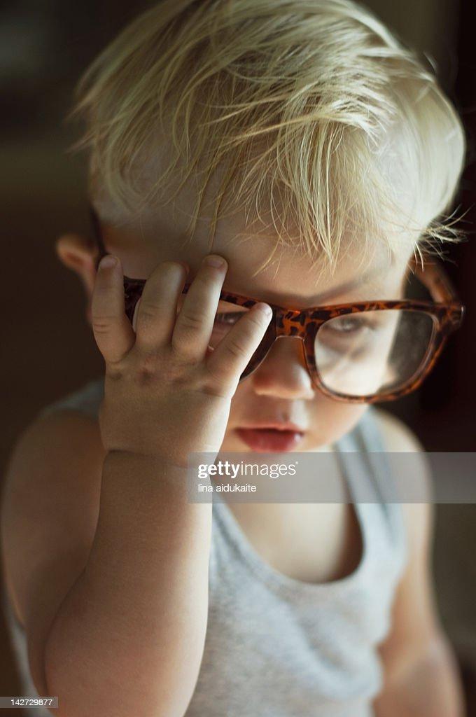 Young professor : Stock Photo