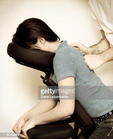 Cute massage therapist sits on jerks face 10