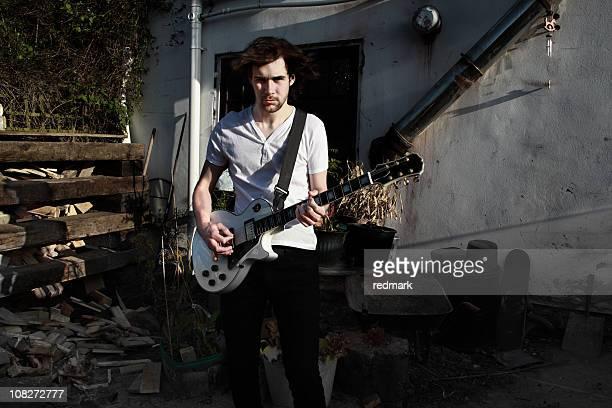 Giovane Musicista rock