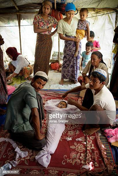 A young Rohingya boy from the IDP camps of Sittwe lies dead after the military refuses to let him seek proper medical attention from a hospital in...