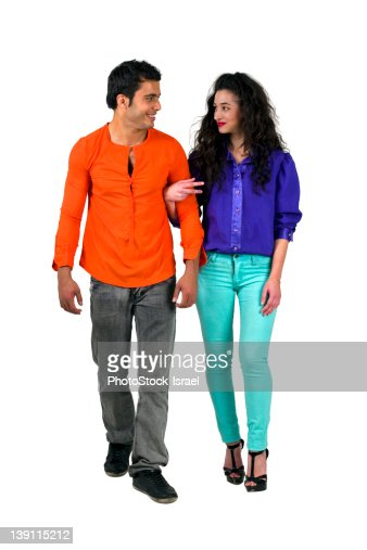 Young romantic couple : Stock Photo