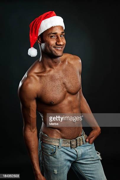 young santa hat