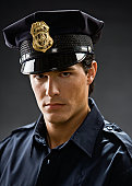 Young security guard, portrait