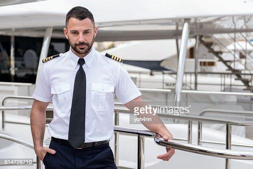 Young ship captain
