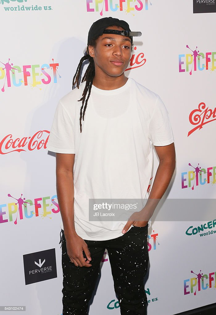 DJ Young Slade attends EpicFest 2016 hosted by L.A. Reid and Epic Records at Sony Studios on June 25, 2016 in Los Angeles, California.