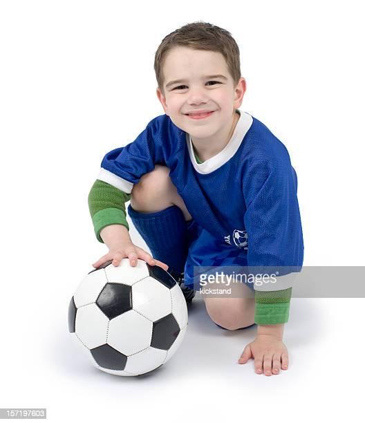 Junge Fußball-star