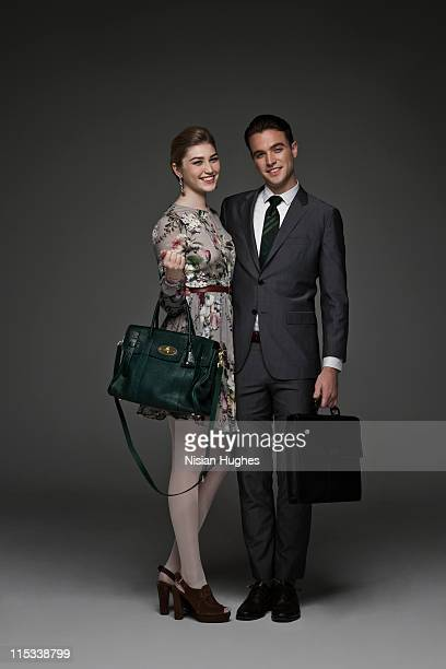 young successful couple together
