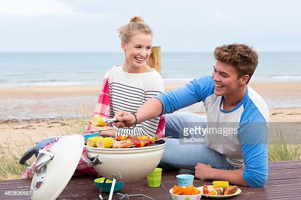 Young Summer Couple