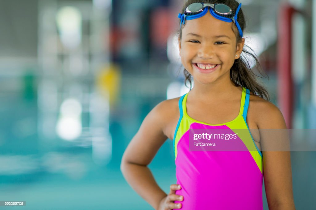 Young Swimmer : Foto stock