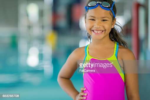 Young Swimmer : Stock-Foto