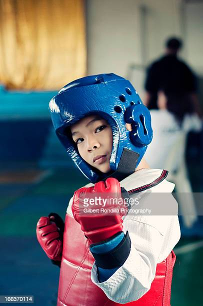 Young Taekwondo Fighter