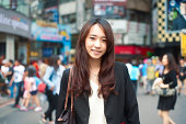 Young Taiwanes woman