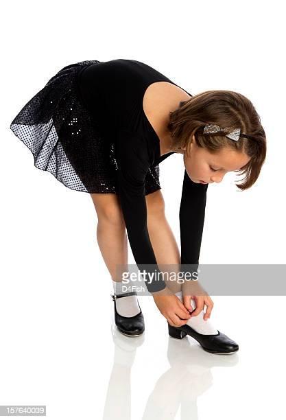 Jeune danseuse pression
