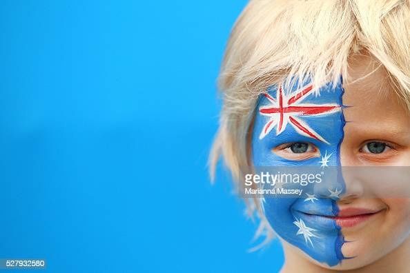 Australia Supporter Face Paint