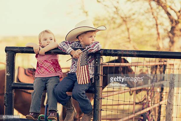 Young Texas Children