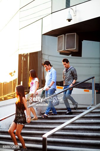 Young Thai adults at shopping Mall : Stock Photo
