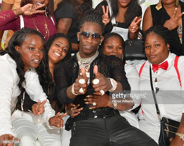 Young Thug attends His 25th Birthday Celebration and PUMA Campaign on August 15 2016 in Atlanta Georgia