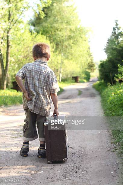 Young traveler