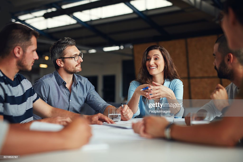 Young visionaries in design : Stock Photo