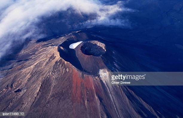 Young volcano of Mount Ngauruhoe (2287m)., Tongariro National Park, Manawatu-Wanganui, North Island, New Zealand, Australasia