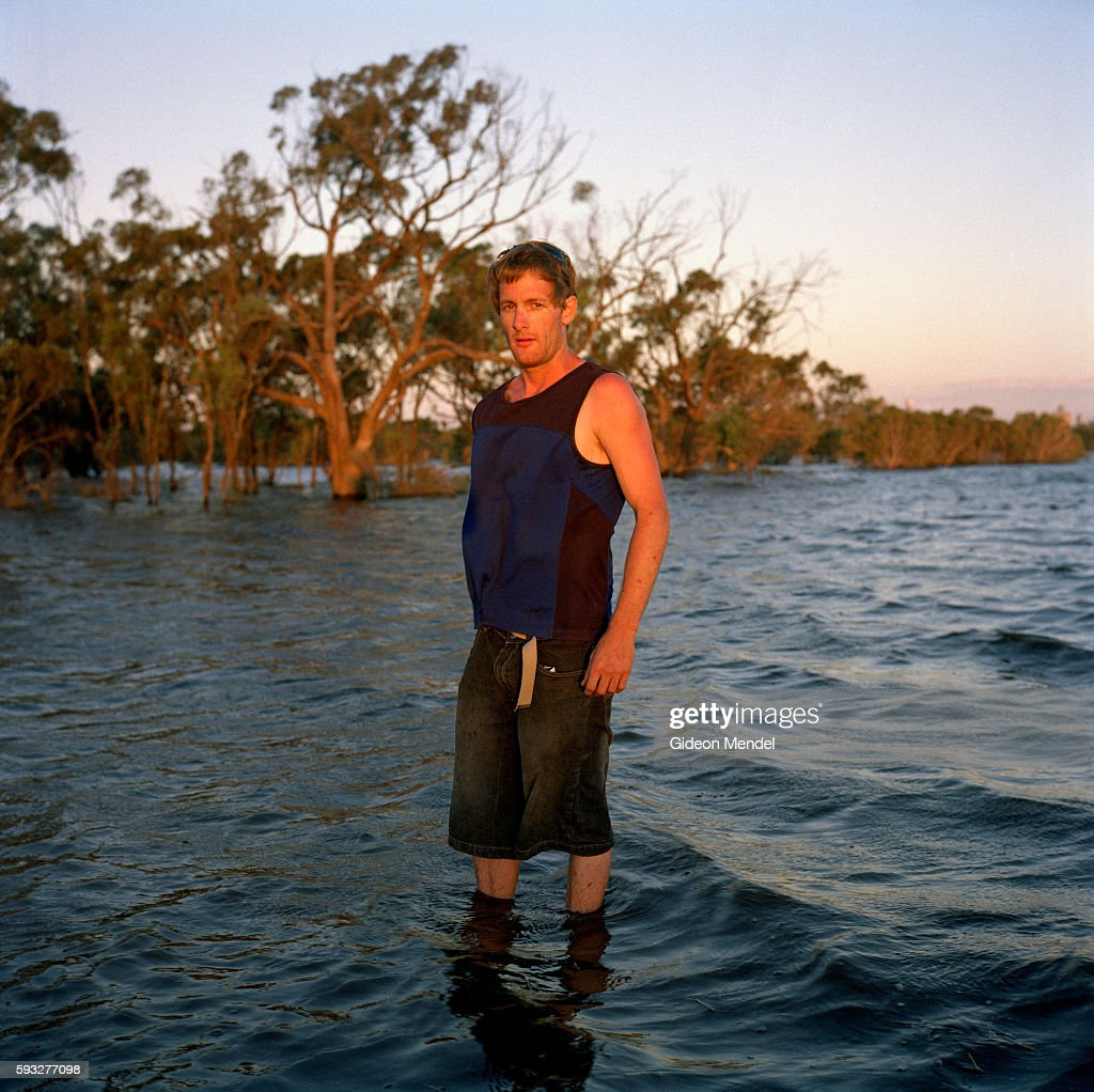 A young volunteer who had come to the town on Jeparit in northern Victoria to help with their flood response He worked with a team of locals who used...